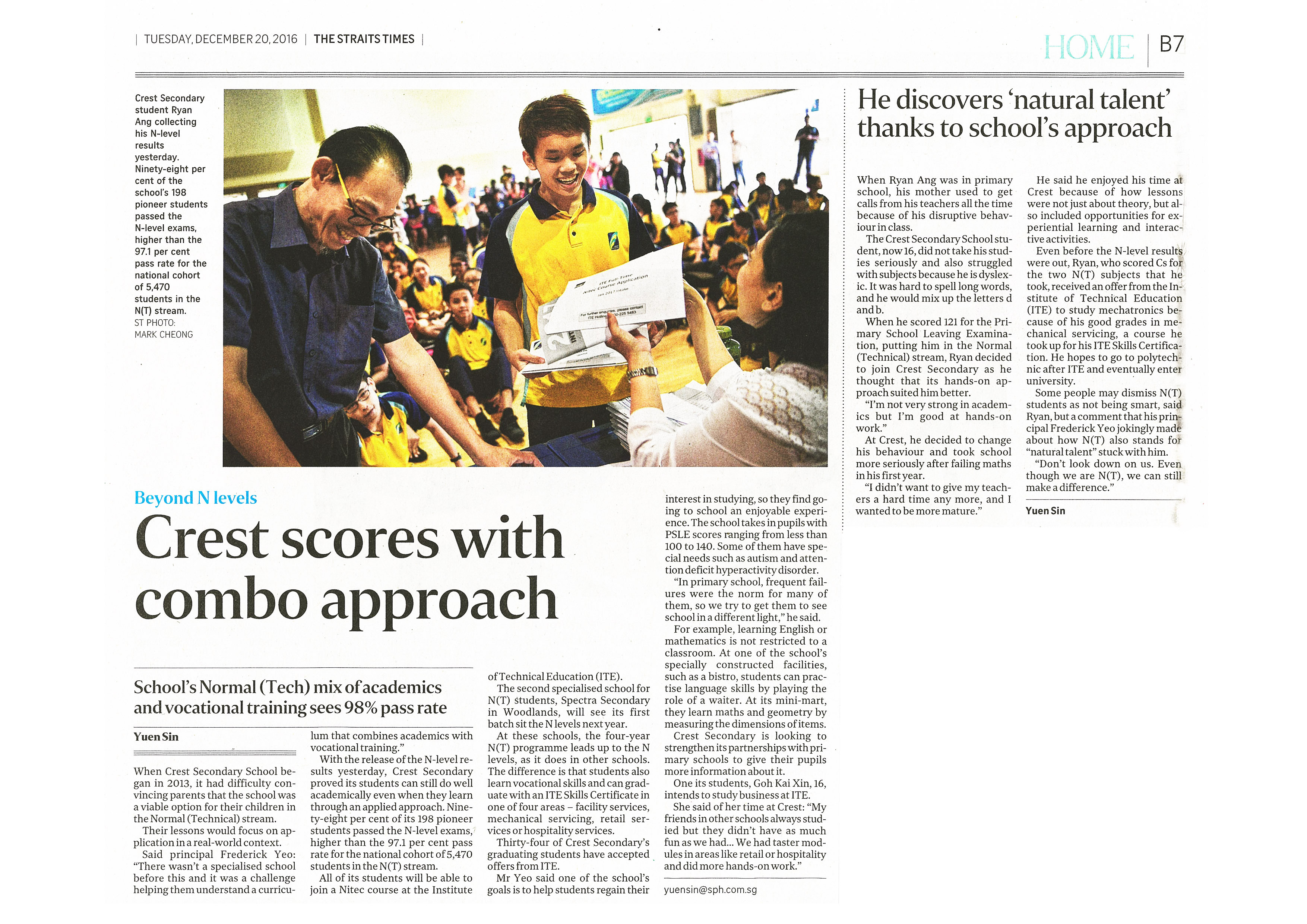Published The Straits Times (GCE N Lv Rslt).jpg